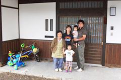 上田市S様ご家族